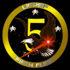 5th Fleet Logo RevC BlackBG SM